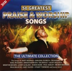 50 Greatest Praise & Worship Songs 3CD Set - KI Gifts Christian Supplies