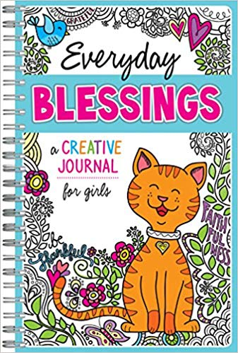 Everyday Blessings: A Creative Journal for Girls (Twin Sisters®) - KI Gifts Christian Supplies