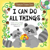 I Can Do All Things: Sing-A-Scripture Series with CD (Twin Sisters) - KI Gifts Christian Supplies