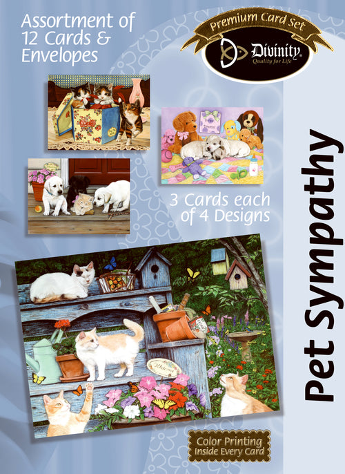 Boxed Cards: Pet Sympathy - KI Gifts Christian Supplies