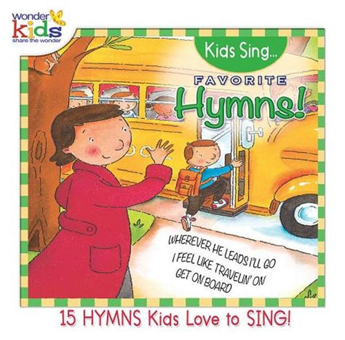 Kids Sing Favorite Hymns Vol 2 - KI Gifts Christian Supplies