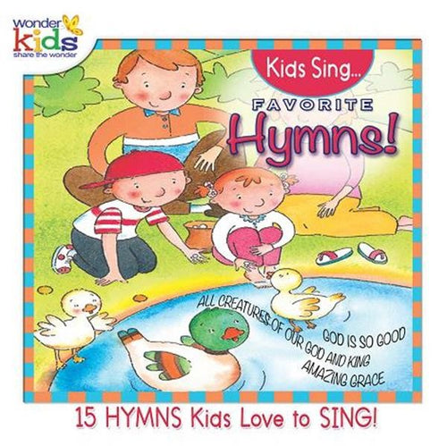 Kids Sing Favorite Hymns Vol 3 - KI Gifts Christian Supplies