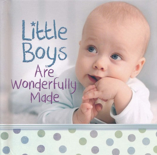 Little Boys Are Wonderfully Made HC - KI Gifts Christian Supplies