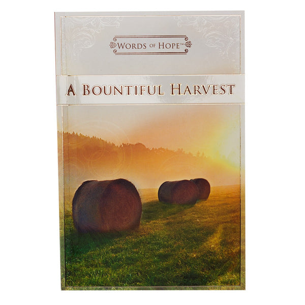 Words of Hope A Bountiful Harvest - KI Gifts Christian Supplies
