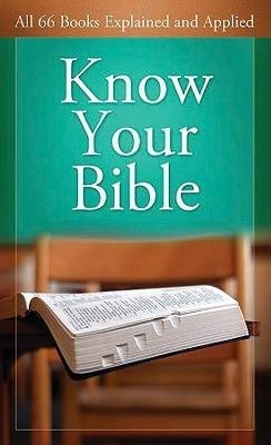 Know Your Bible MMBP - KI Gifts Christian Supplies