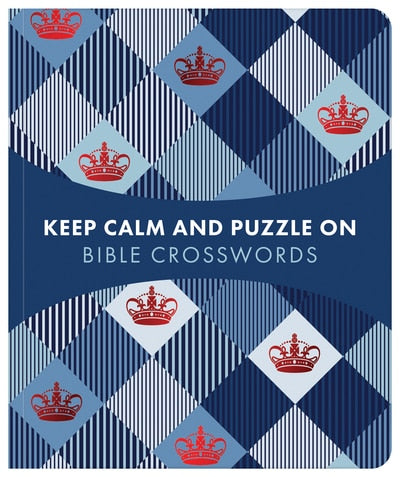 Keep Calm And Puzzle On - Bible Crosswords