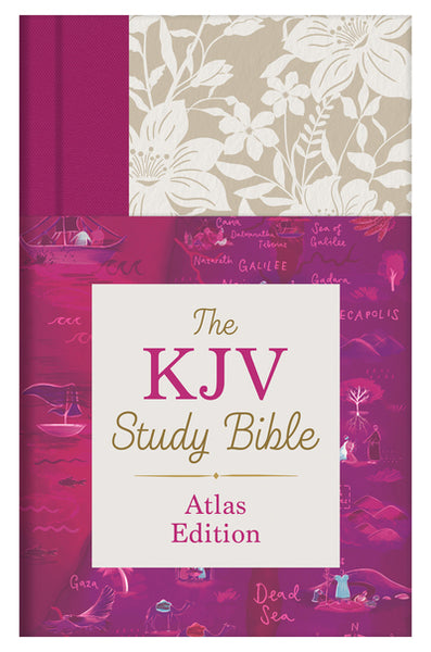 The KJV Study Bible: Atlas Edition [Wildflower Bouquet Thumb Indexed] - Christopher D. Hudson