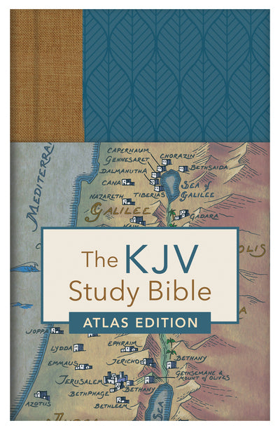 The KJV Study Bible: Atlas Edition [Woodland Thumb-Indexed] - Christopher D. Hudson