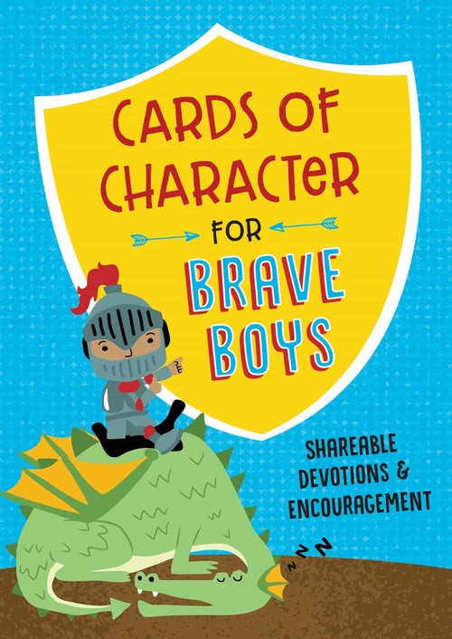 Cards of Character For Brave Boys: Shareable Devotions and Encouragement