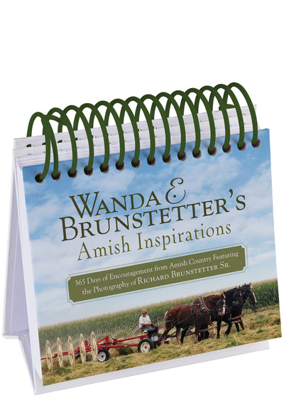 Wanda E. Brunstetter's Amish Inspirations Perpetual Calendar - KI Gifts Christian Supplies