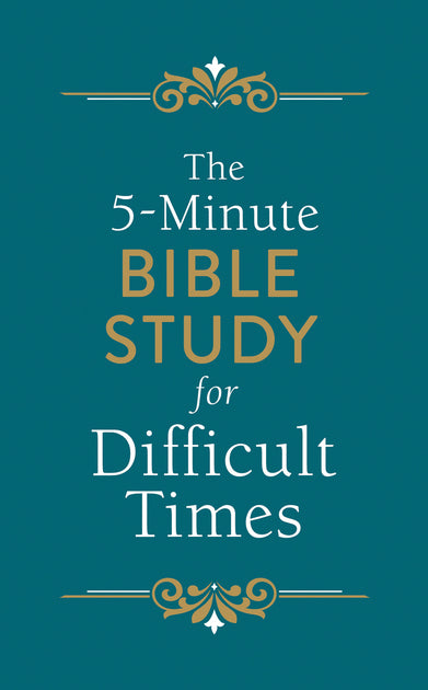 The 5-Minute Bible Study for Difficult Times (Ellyn Sanna) - KI Gifts Christian Supplies