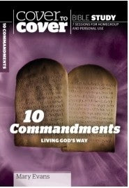 Cover To Cover Bible Study: 10 Commandments - KI Gifts Christian Supplies