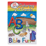52 ABC Bible Fun Coloring Cards for Kids