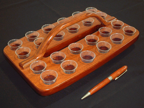 24 Hole Communion Tray - KI Gifts Christian Supplies
