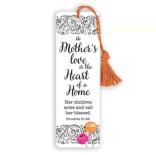 A Mother's Love Heart Of A Home - Versemark - KI Gifts Christian Supplies