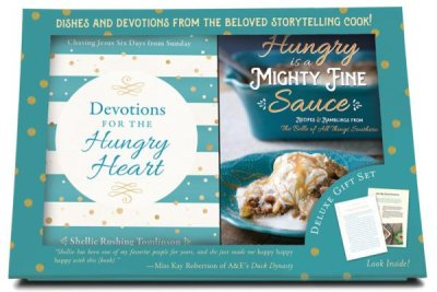 Devotions for the Hungry Heart - Boxed Set (Shellie Rushing Tomlinson) - KI Gifts Christian Supplies