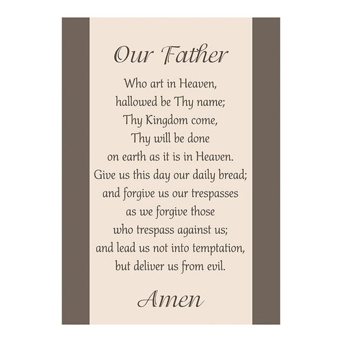 Large Poster - Our Father