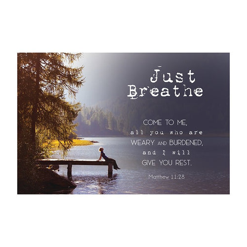 Small Poster - Just Breathe