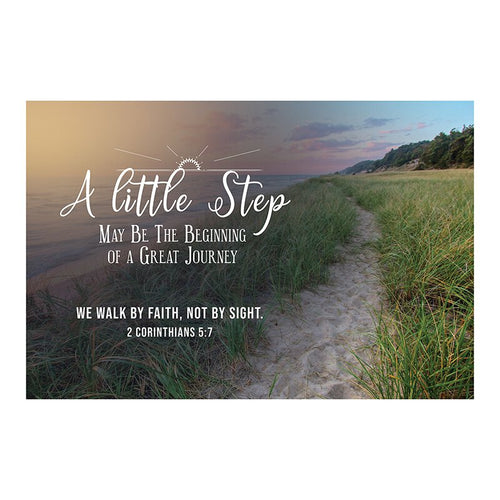 Small Poster - A Little Step