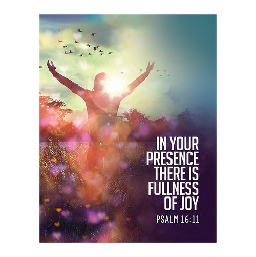 Square Magnet - In Your Presence is Fullness of Joy