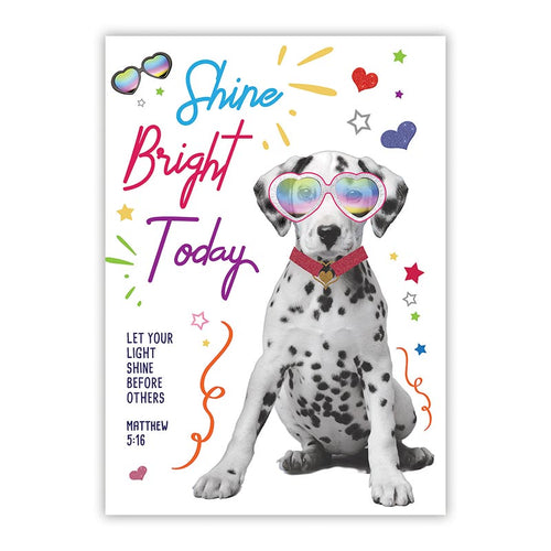 Large Poster - Shine Bright Today