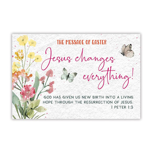 Pass it On (25 Cards) - Jesus Changes Everthing