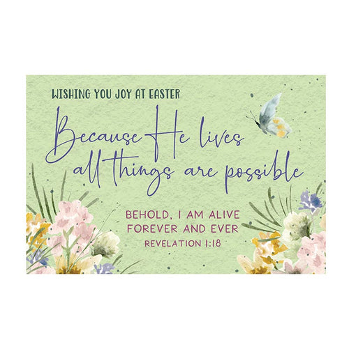 Pass it On (25 Cards) - Because He Lives