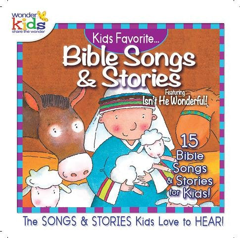 Kids Sing Favorite Bible Songs & Stories: Jesus - KI Gifts Christian Supplies