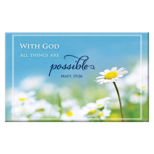 Magnet: With God All Things are Possible