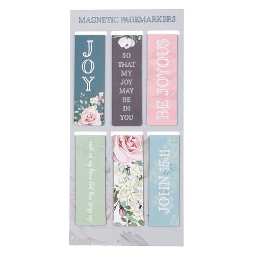 That My Joy May Be In You Magnetic Bookmark Set - John 15:11