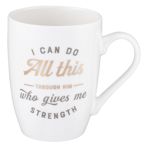 Coffee Mug – I Can Do All Things  Philippians 4:13