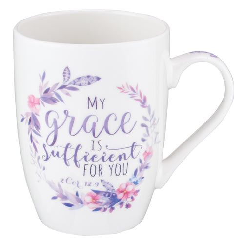 Coffee Mug - My Grace is Sufficient 2 Corinthians 12:9