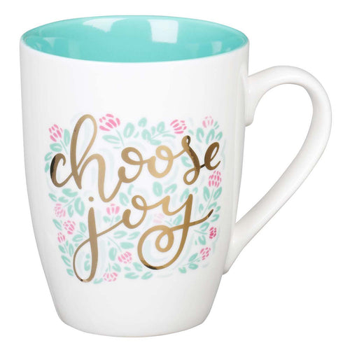 Ceramic Coffee Mug - Choose Joy