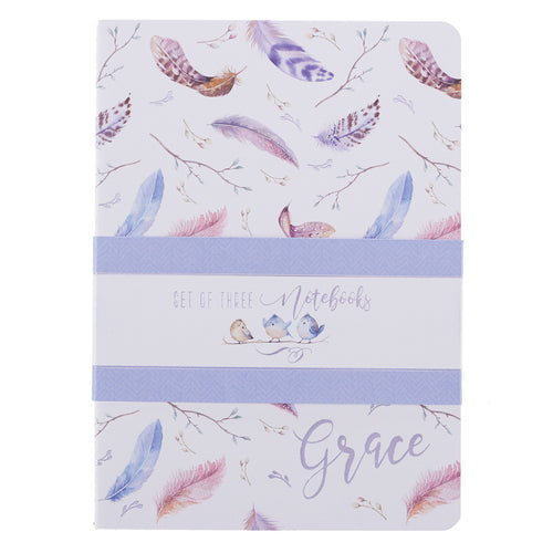 Grace Large Notebook Set