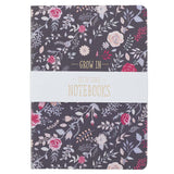 Large Notebook Set - Grace, Love, Faith