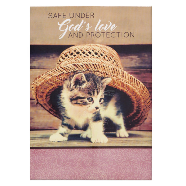 Notepad Pet (ORDER in 3's) - Safe Under God's Love