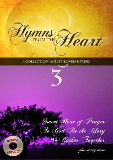 Hymns From The Heart Vol 3 DVD - Sweet Hour Of Prayer - KI Gifts Christian Supplies