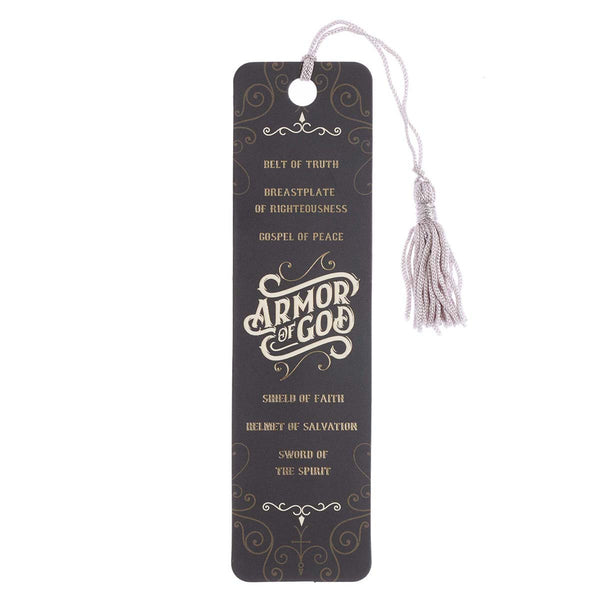 Bookmark with Tassel - Armor of God Ephesians 6:10-18 (order in 6's)