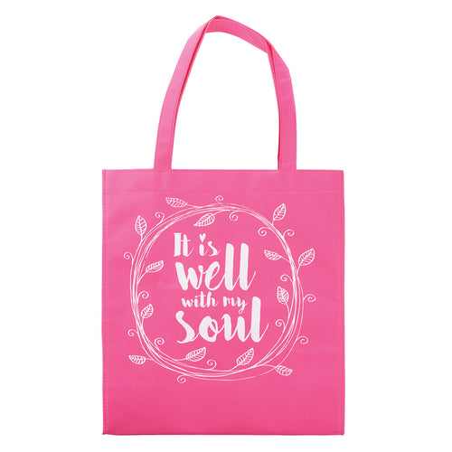 It is Well with My Soul Tote Shopping Bag