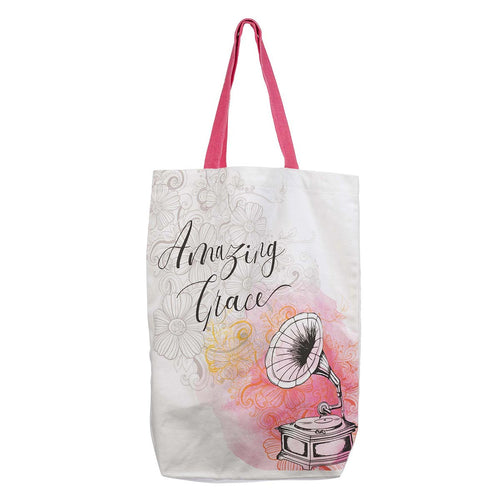 Amazing Grace Cotton Canvas Tote Bag