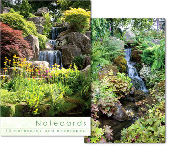 Notecards: Waterfalls RHS  (W137BLT)