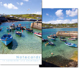 Notecards: Coverack harbour