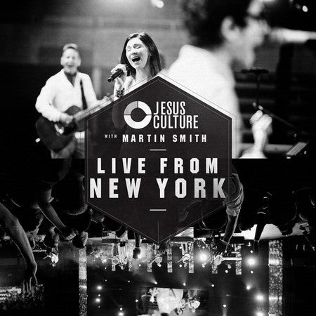 Jesus Culture With Martin Smith: Live From New York CD - KI Gifts Christian Supplies