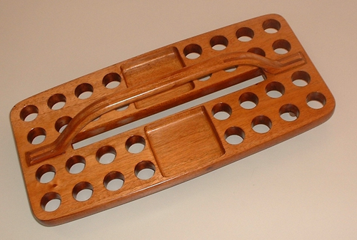 32 Hole Communion Tray  GLT03 (Small Bread Space) - KI Gifts Christian Supplies