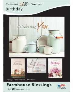 Boxed Card - Birthday Farmhouse Blessings