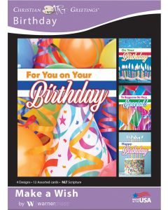 Boxed Card - Birthday Make A Wish
