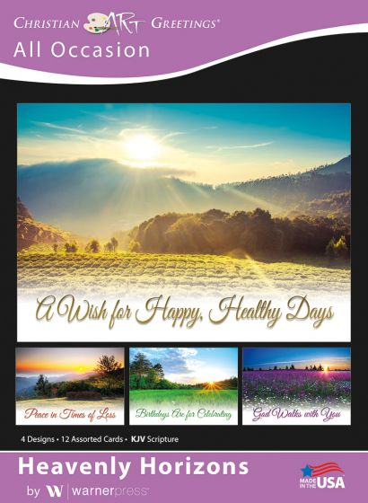 Boxed Card - All Occasion : Heavenly Horizons