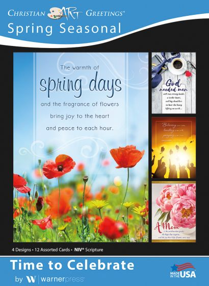 Boxed Card - Spring Seasonal : Time to Celebrate