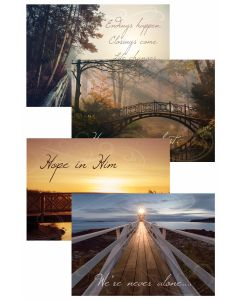 Boxed Card - Sympathy - Life's Journey  KJV