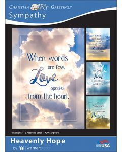 Boxed Card - Sympathy Heavenly Hope